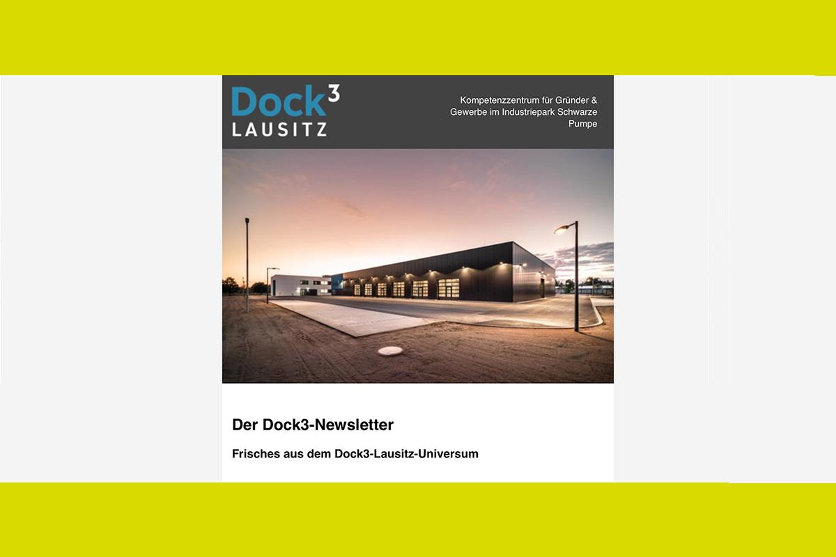 Der Dock3-Newslter ist erschienen