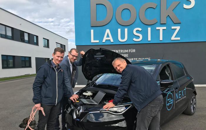 Next Automotive Testing ist Mieter im Dock3 Lausitz