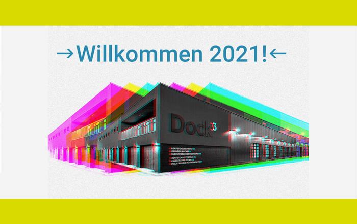 Das Dock3 Lausitz heißt das Jahr 2021 willkommen