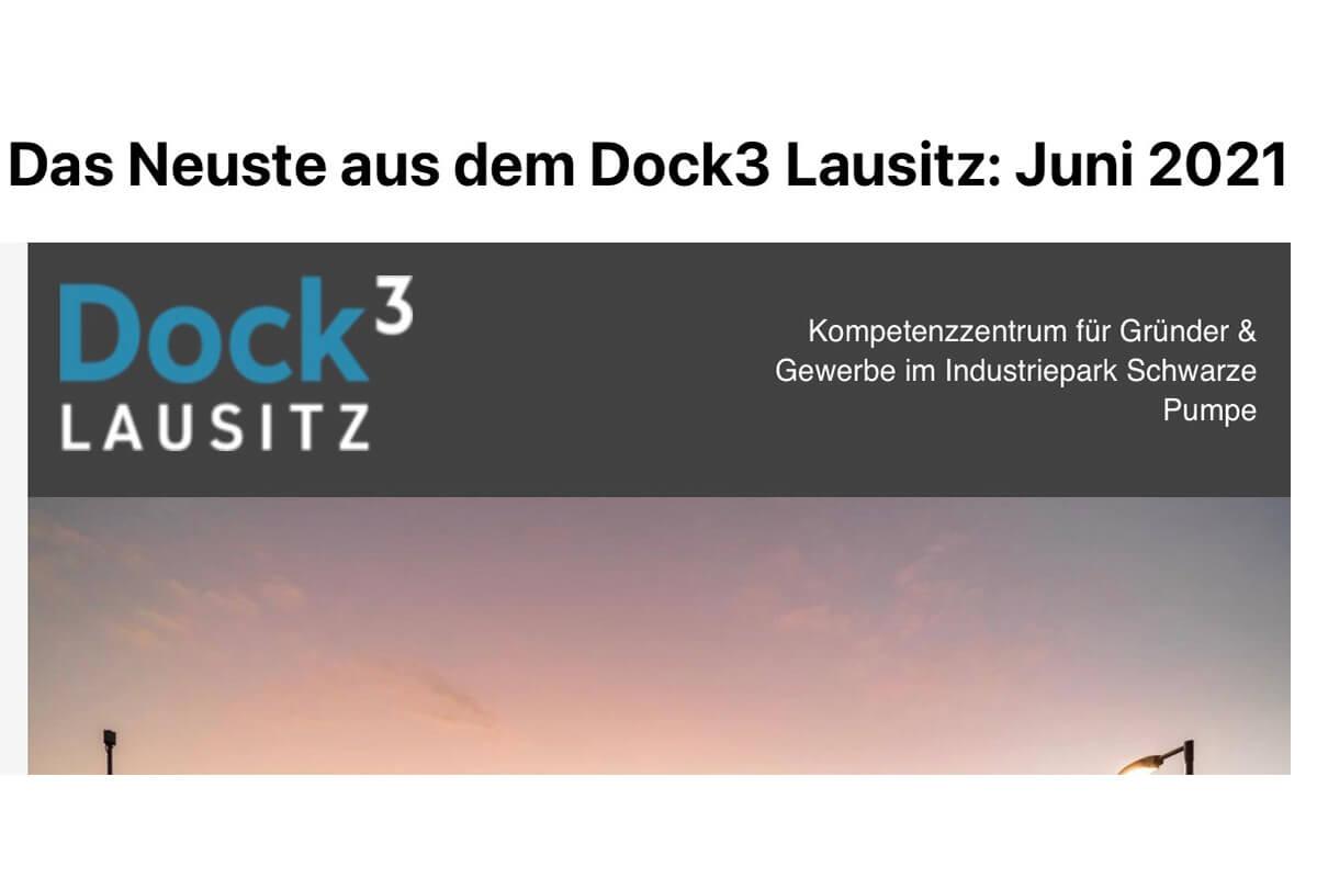 Der Dock 3 Lausitz Newsletter Mai 2021 ist erschienen