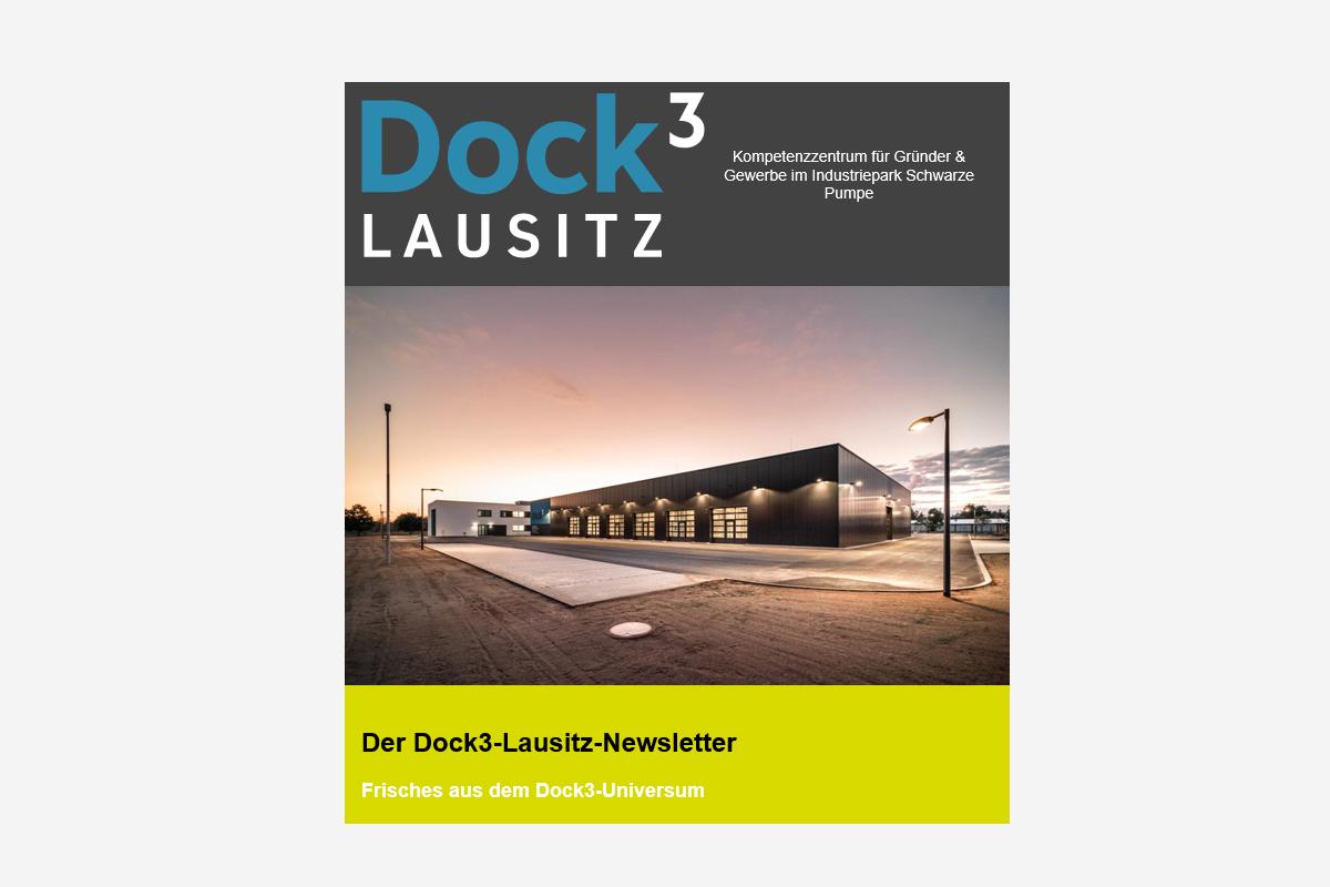 Wir haben den Sommer-Newsletter des Dock3 Lausitz veröffentlicht
